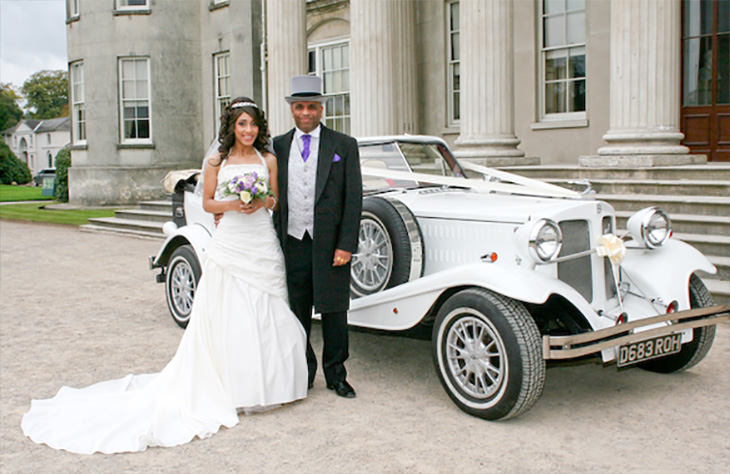 Beauford Tourer (White) Wedding Worcester