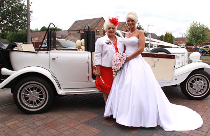 Beauford Tourer (White) local Hire