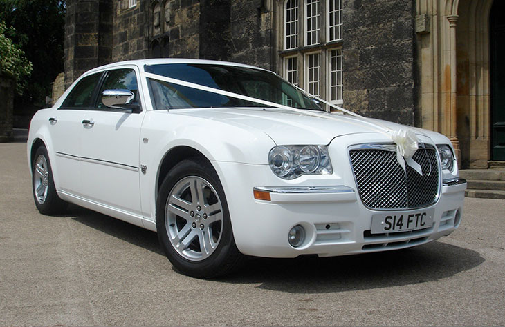 Chrysler 300 Saloon White