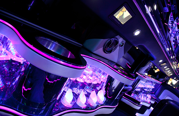 H2 Hummer limousine White local Hire
