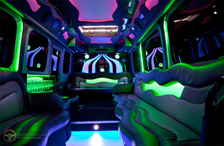 Party Limo Bus Worcester