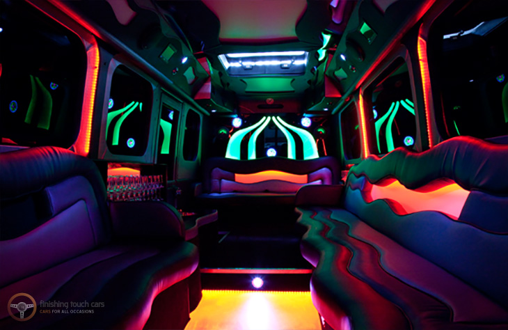 Party Limo Bus Wedding Worcester