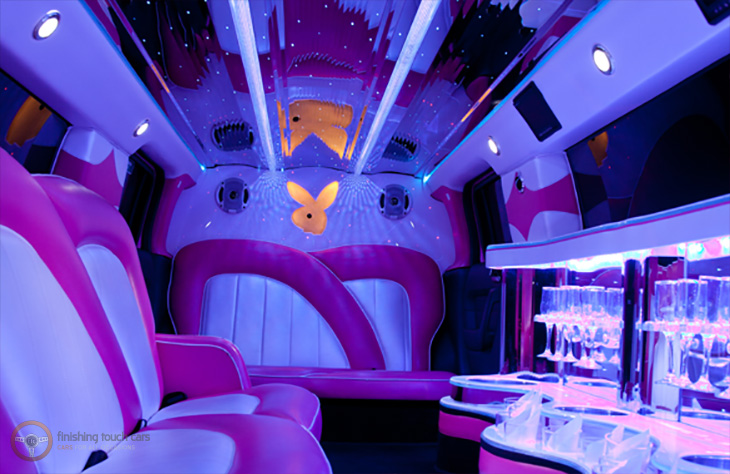 Pink Hummer Limousine local Hire