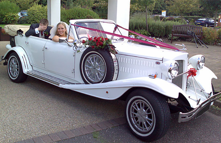 Beauford Tourer (White)