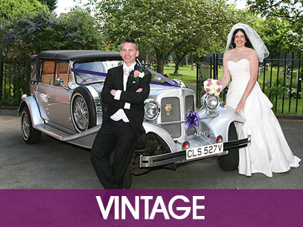 Vintage Wedding Cars Worcester