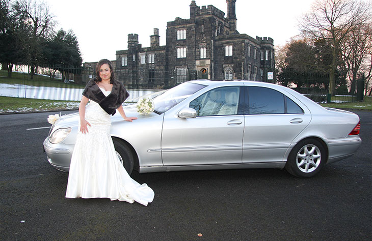 Mercedes S Class Silver local Hire