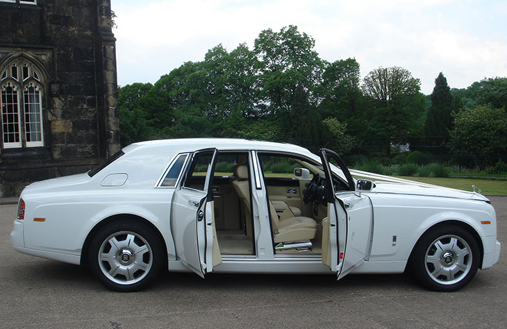 Rolls Royce Phantom White Worcester