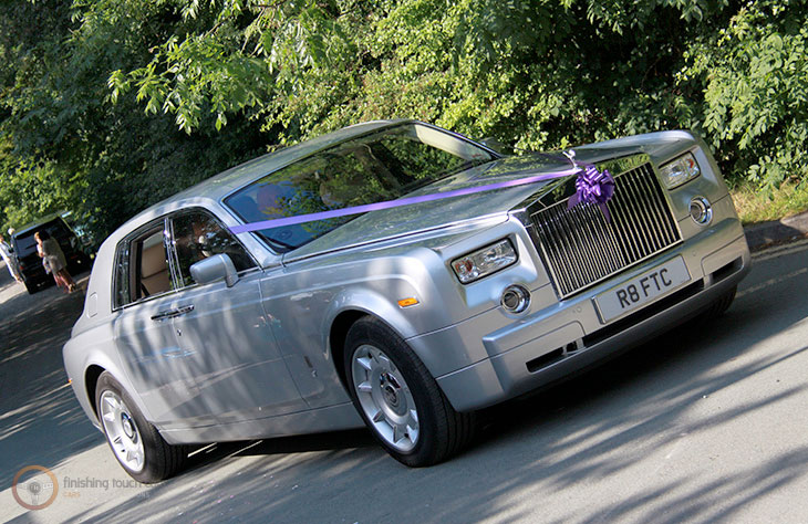 Rolls Royce Phantom Silver local Hire
